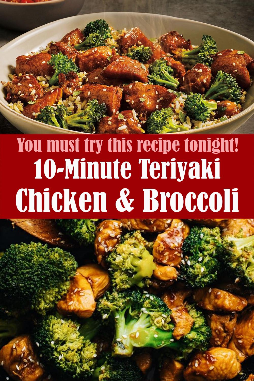 10-Minute Teriyaki Chicken & Broccoli