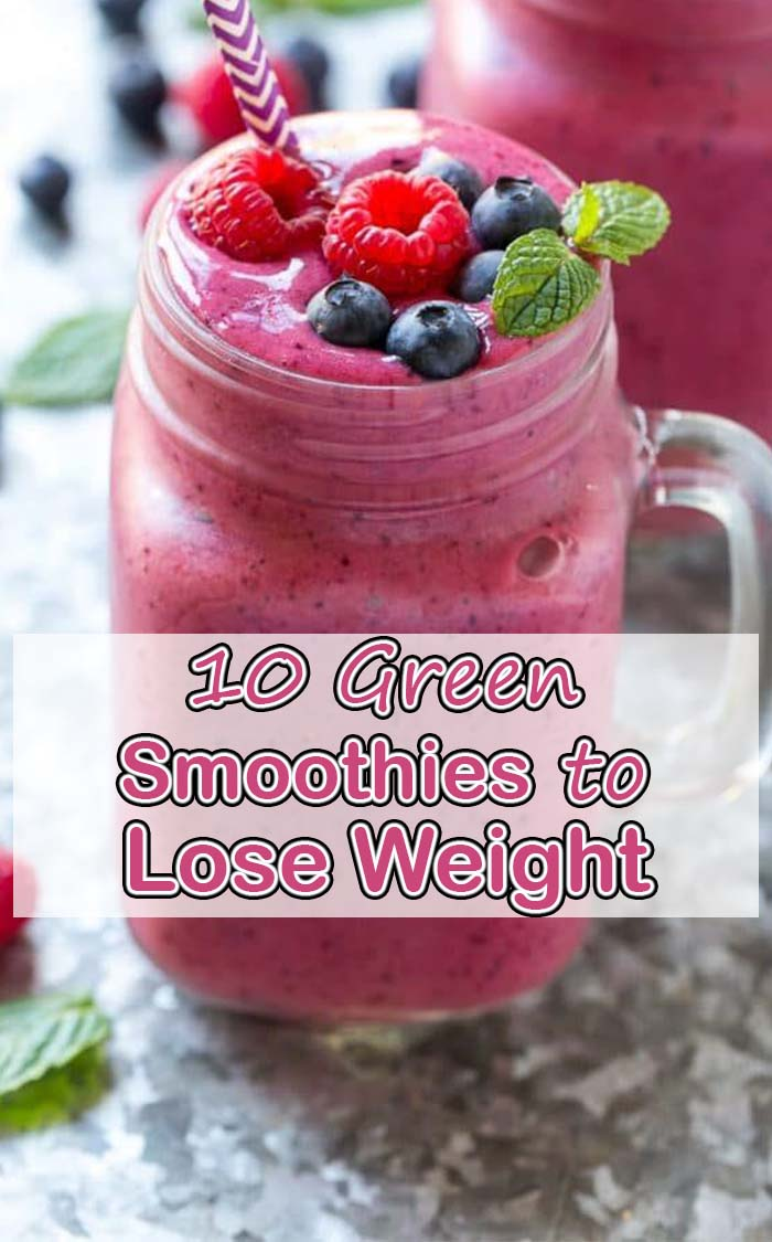 Summer Smoothie With Berries