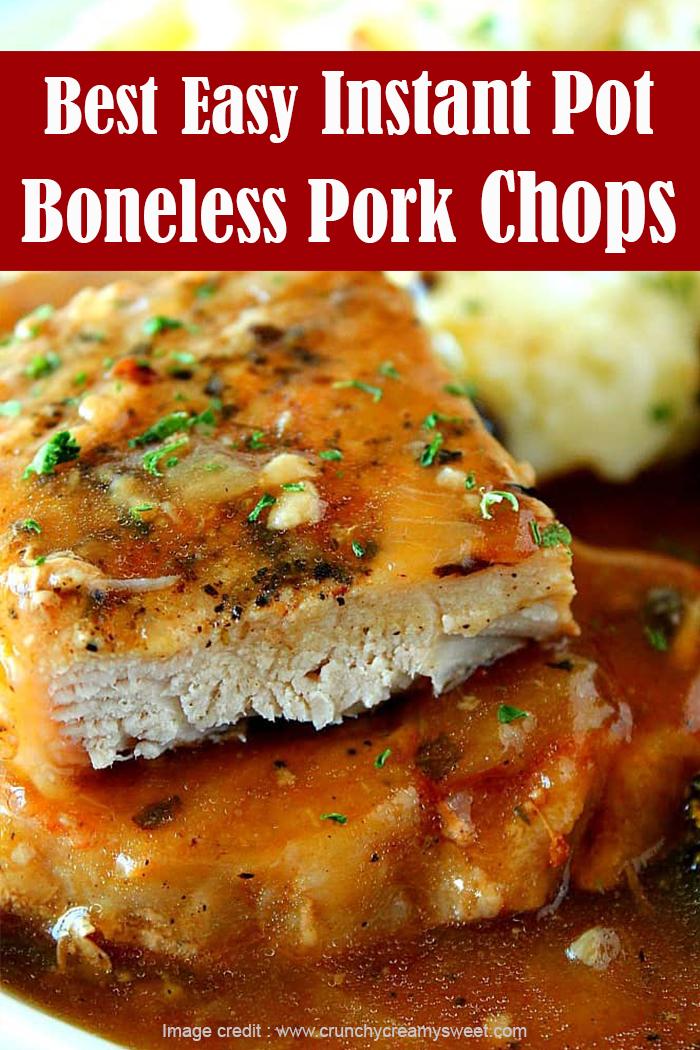 Best Easy Instant Pot Boneless Pork Chops Recipe