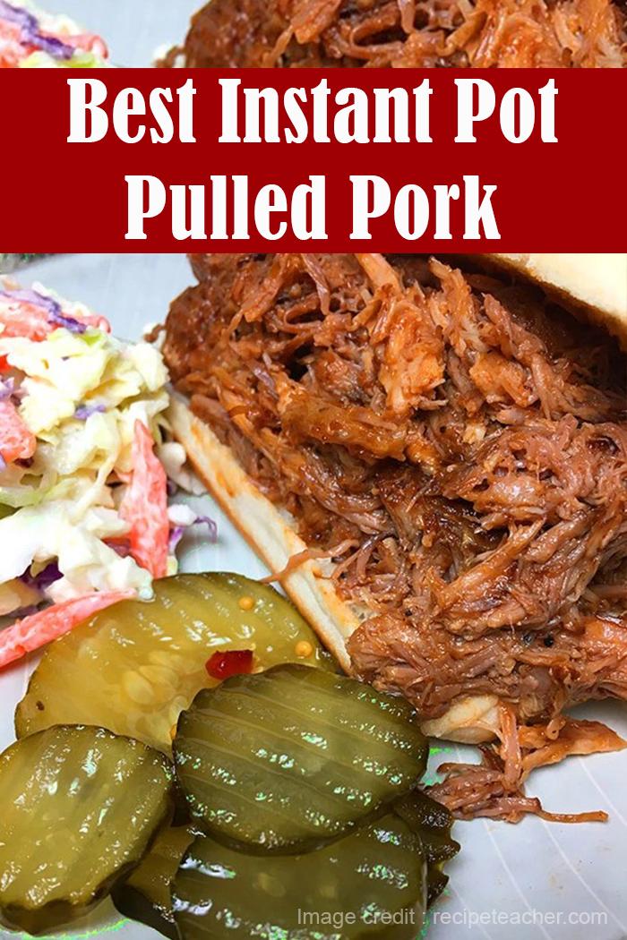 Best Instant Pot Pulled Pork