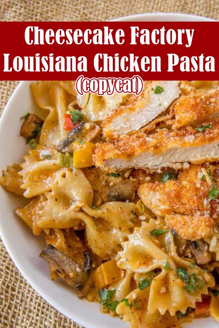 Cheesecake Factory Louisiana Chicken Pasta (Copycat)