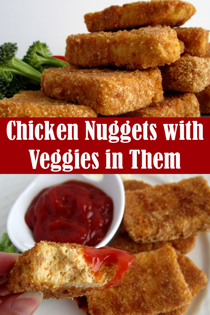 Chicken Nuggets with Veggies in Them