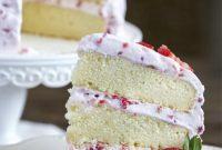Delicious Fresh Strawberry Cake Recipe