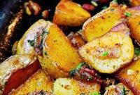 Delicious Pan Fried Potatoes Recipe