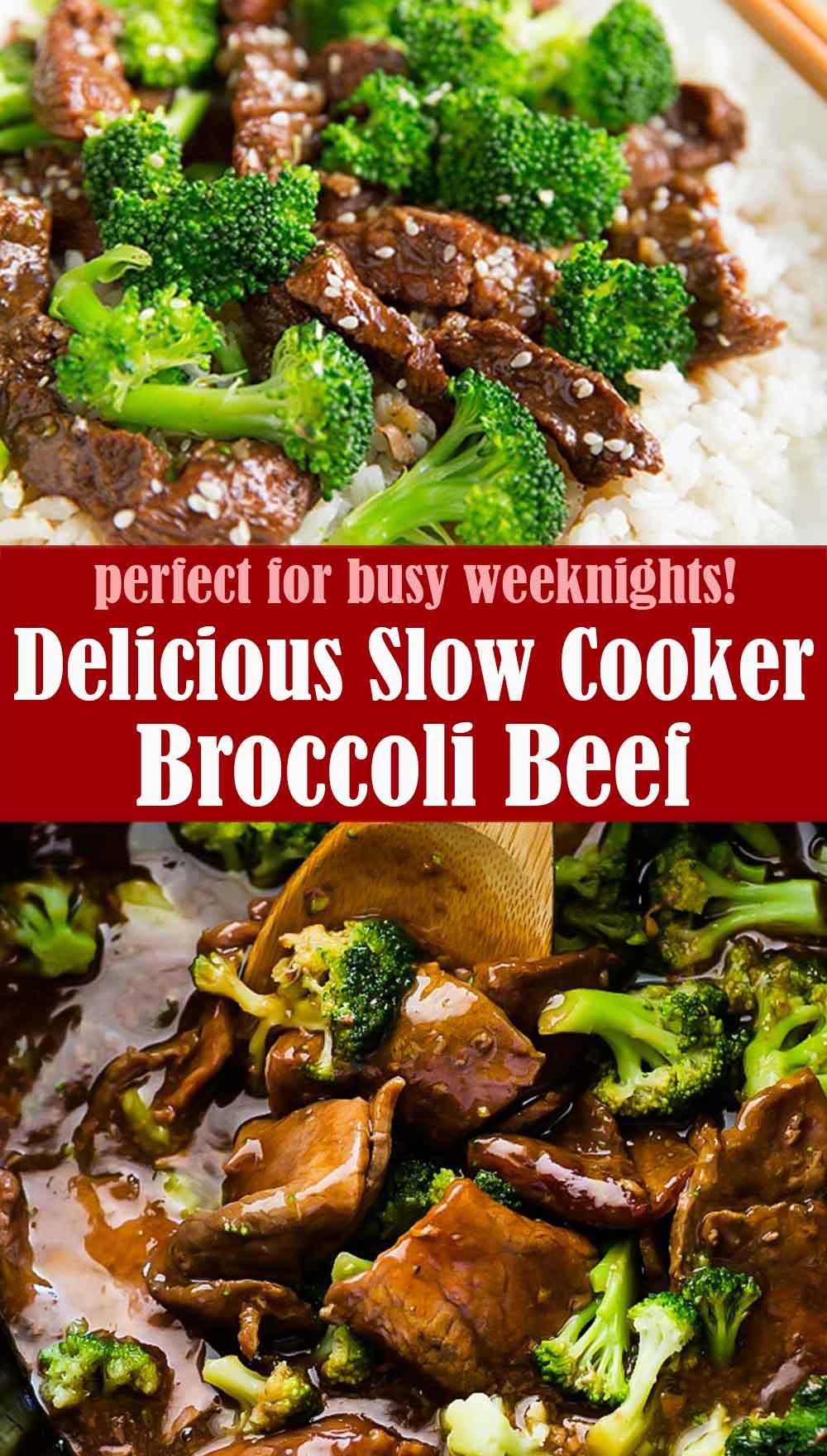 Delicious Slow Cooker Broccoli Beef