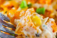 Doritos Casserole with Chicken Recipe