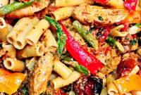 Easy Creamy Chicken Alfredo Pasta