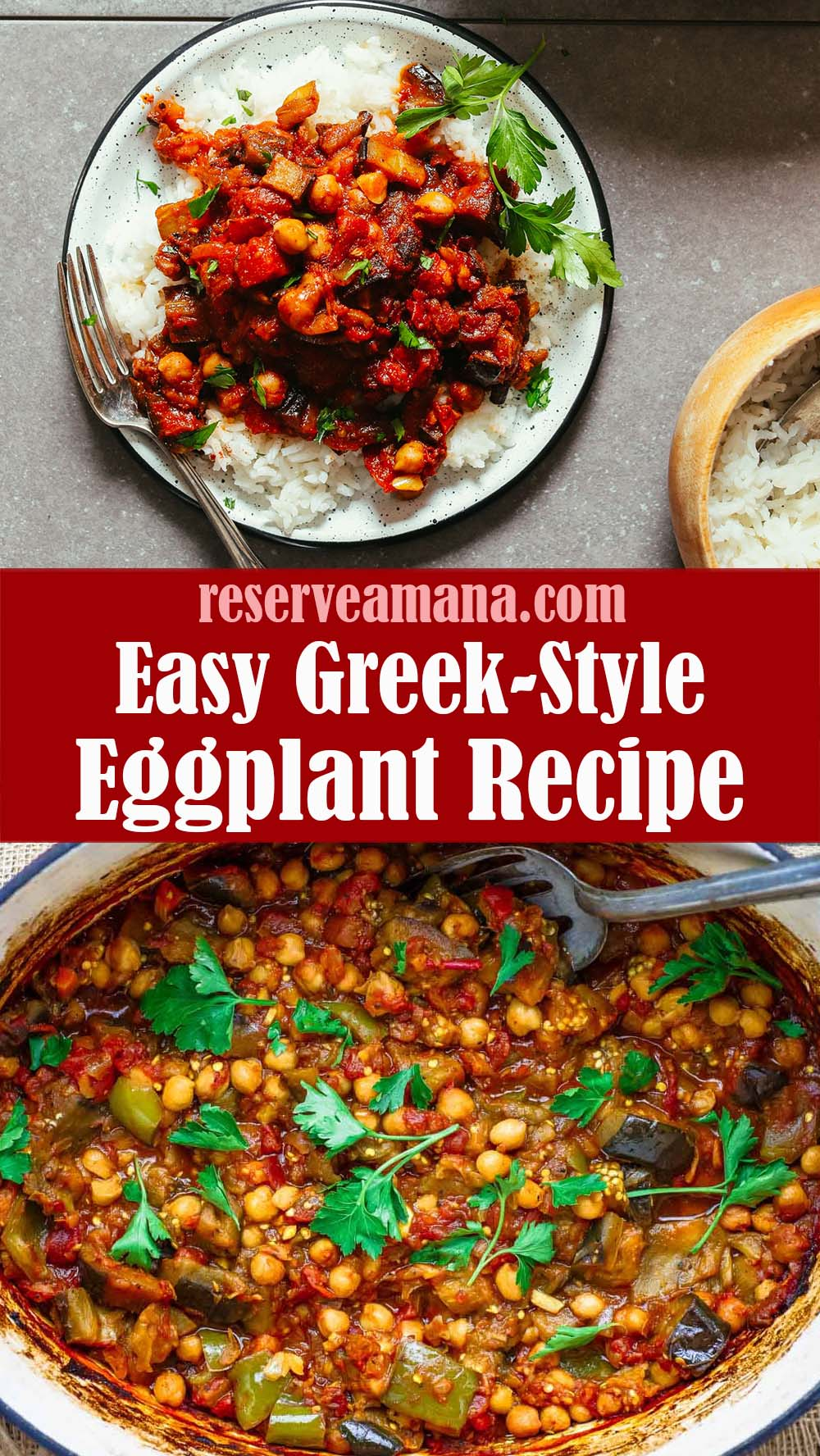 Easy Greek-Style Eggplant Recipe