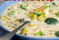 Easy Healthy Chicken Broccoli Soup
