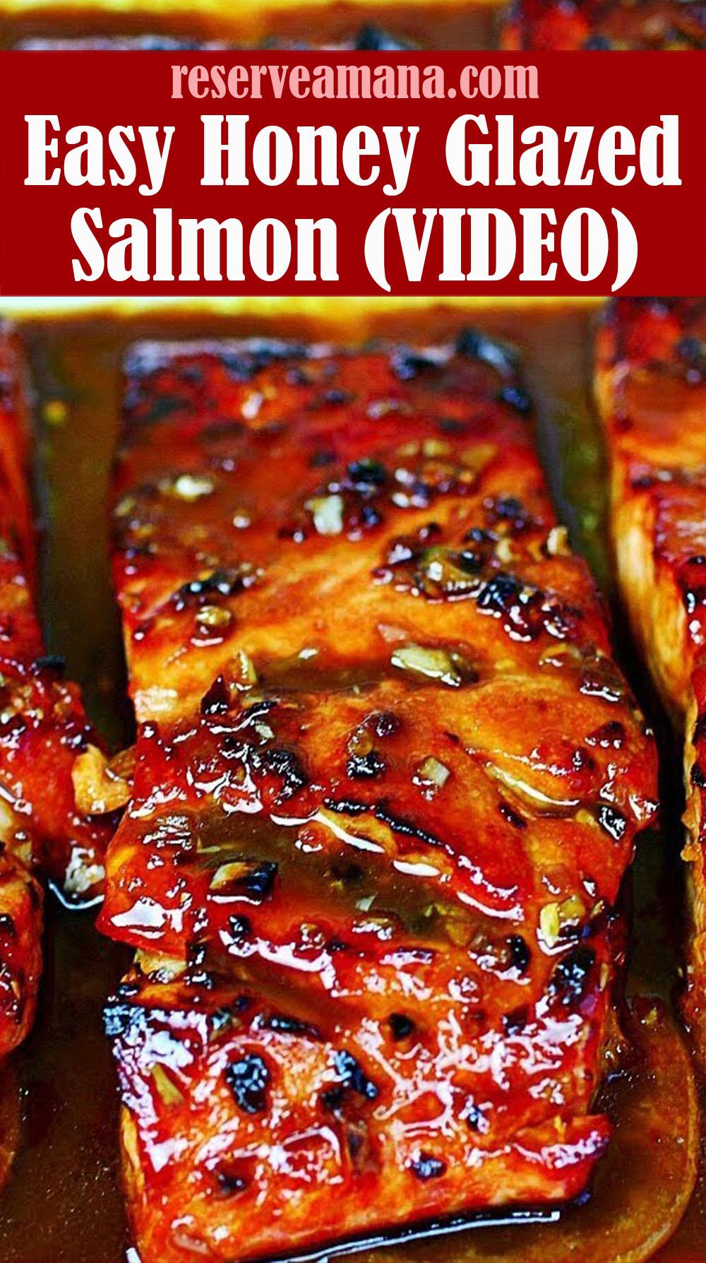 Easy Honey Glazed Salmon