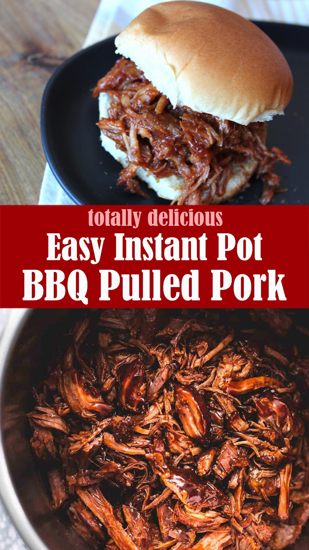 Easy Instant Pot BBQ Pulled Pork Recipe