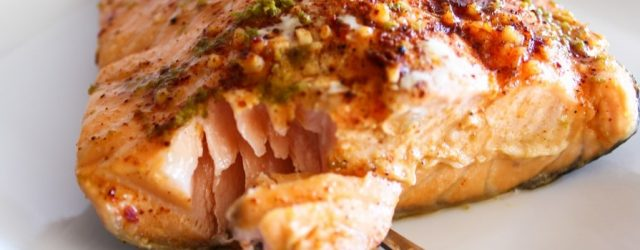 Easy Oven Baked Chili Lime Salmon