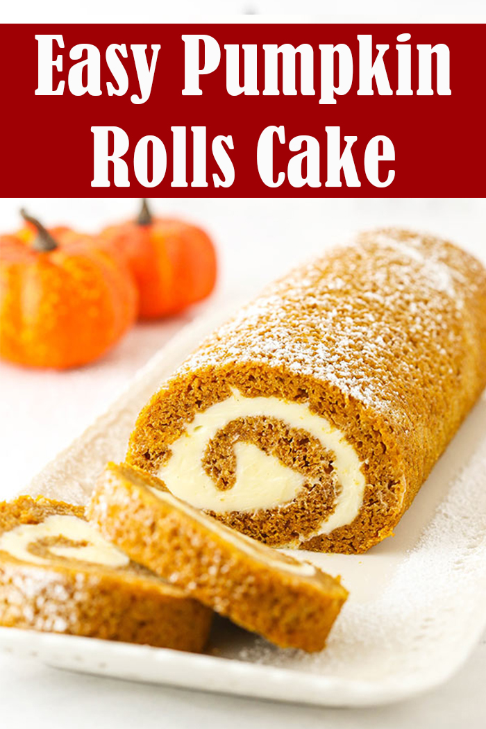 Easy Pumpkin Rolls Cake Recipe