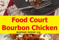 Food Court Bourbon Chicken