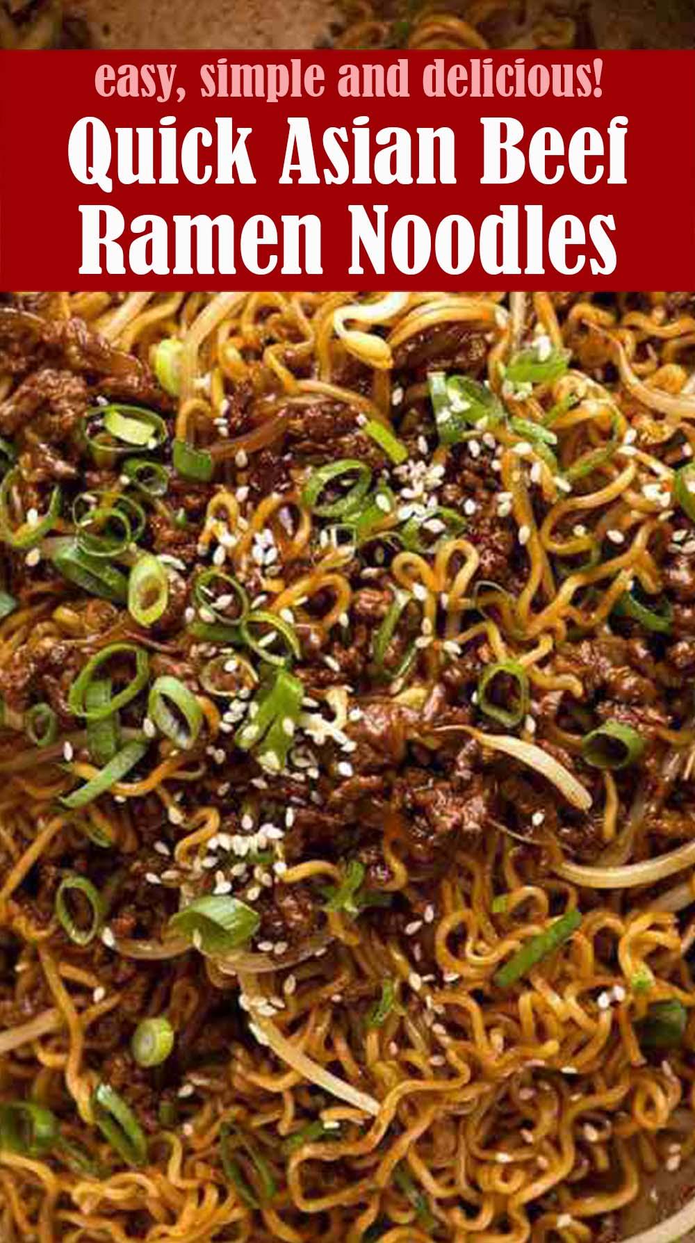 Quick Asian Beef Ramen Noodles Recipe