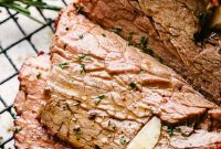 Rosemary Garlic Roast Beef Recipe