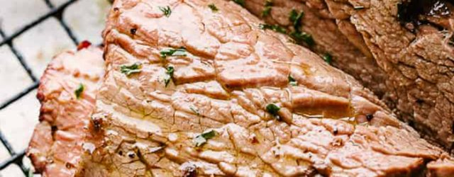 Rosemary Garlic Roast Beef Recipe