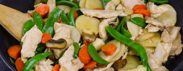 Healthy Moo Goo Gai Pan Recipe
