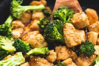 One Pot Keto Sesame Chicken and Broccoli
