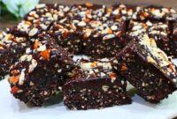 Easy Healthy No-Bake Brownies Recipe