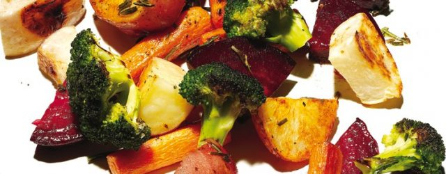 Low Carb Oven Vegetables (under 15 minutes)