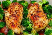 Easy One Pan Honey Garlic Chicken and Veggies