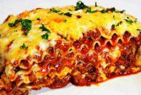 The Best Homemade Italian Lasagna