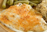 Easy Broiled Tilapia Parmesan