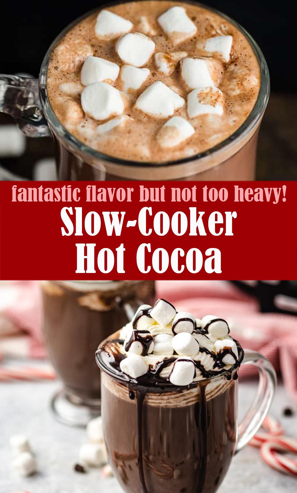Slow-Cooker Hot Cocoa Recipe