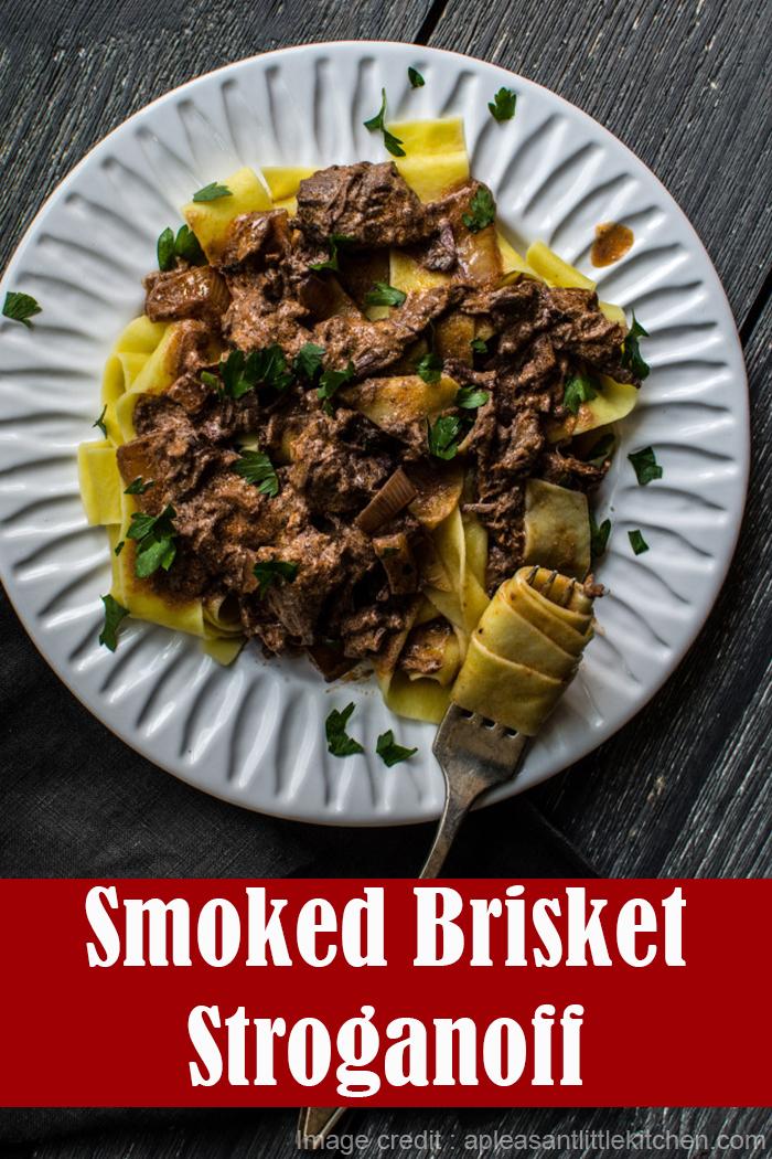 Smoked Brisket Stroganoff