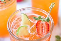 Strawberry Pineapple Mojito