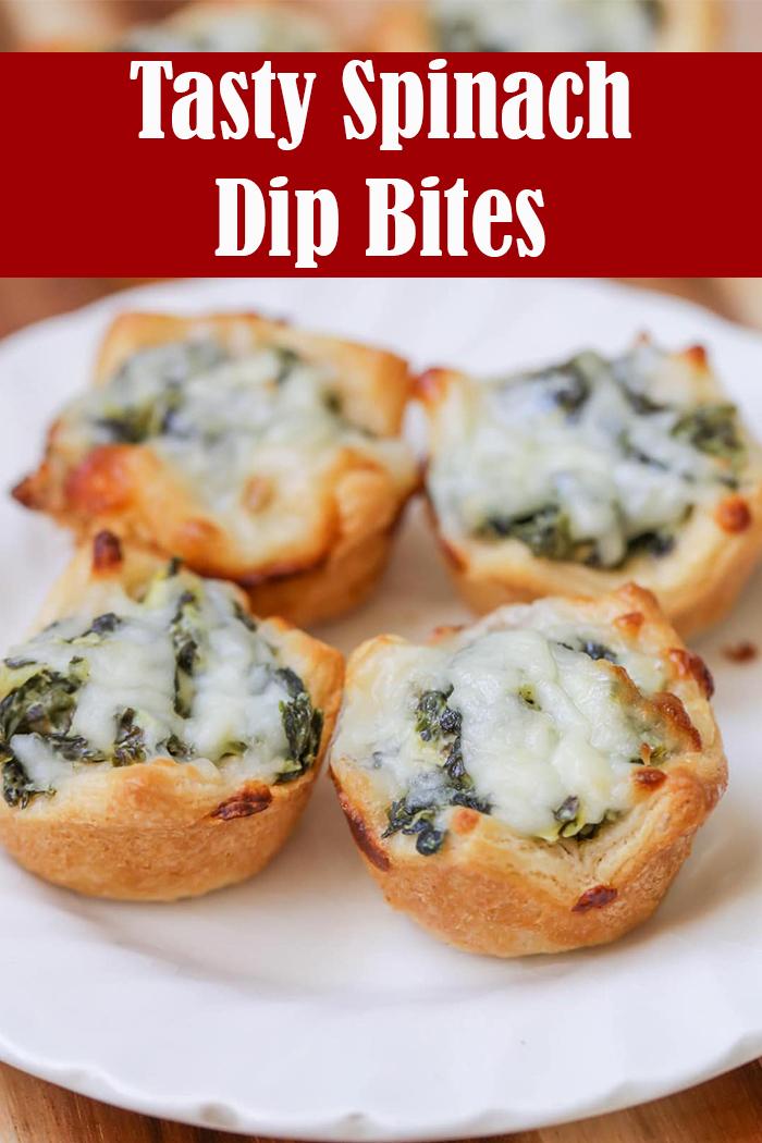Tasty Spinach Dip Bites Recipe