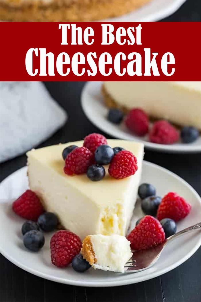 The Best Cheesecake Recipe