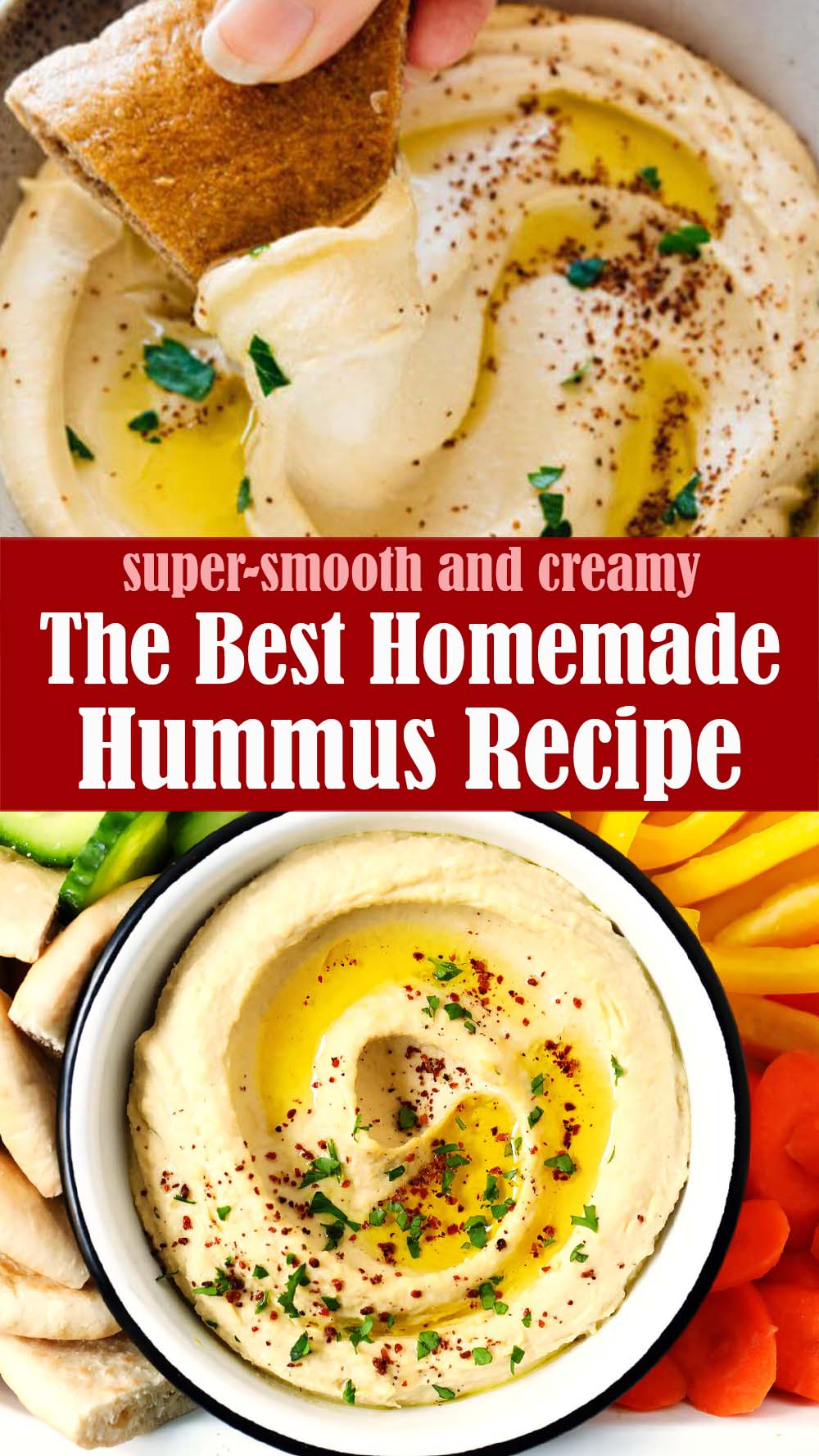 The Best Homemade Hummus Recipe