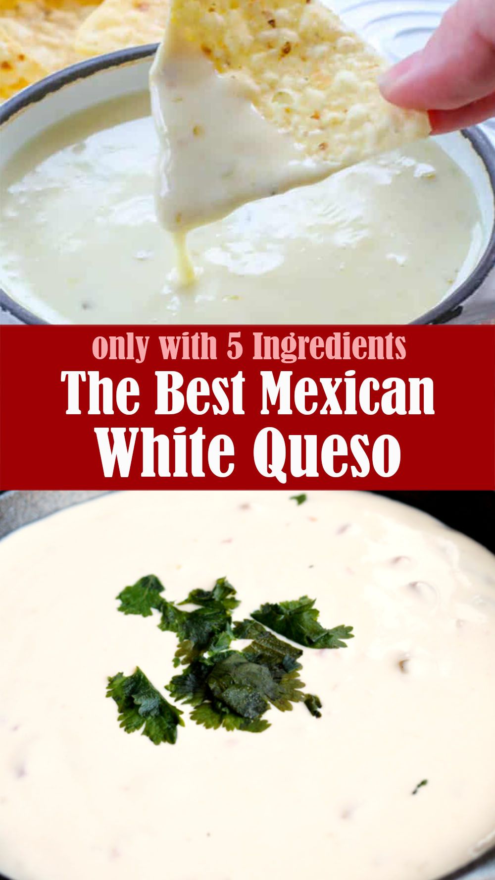 The Best Mexican White Queso