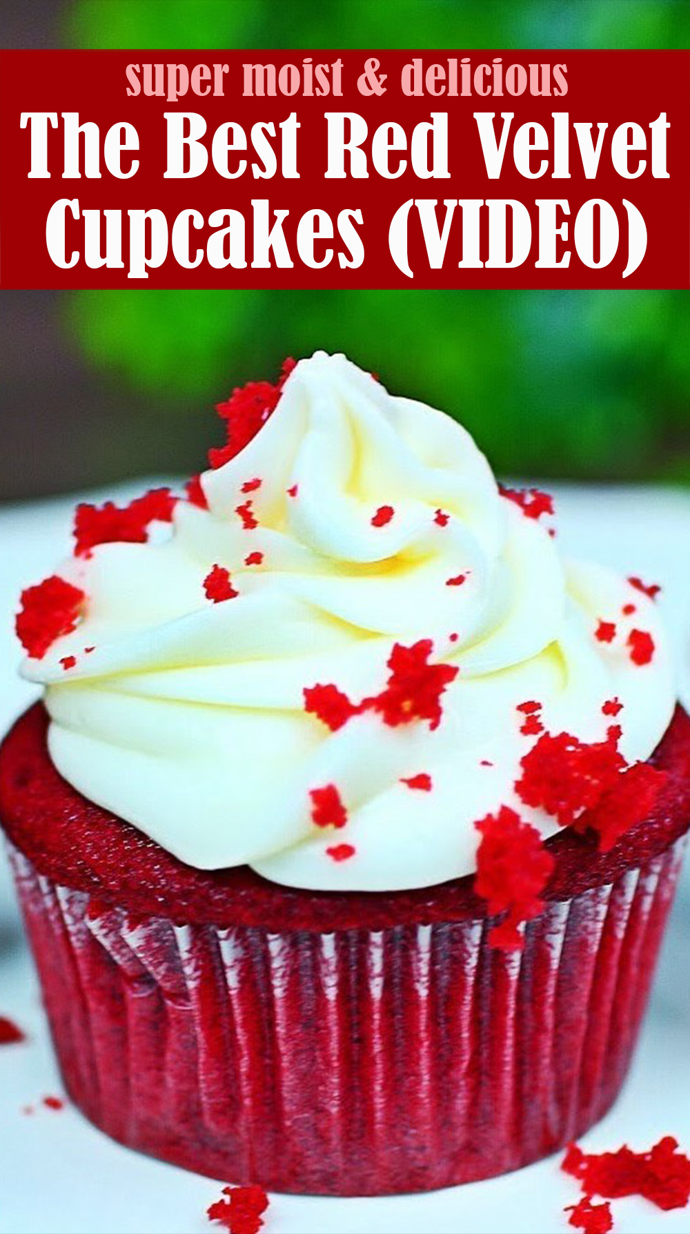 The Best Red Velvet Cupcakes Recipe
