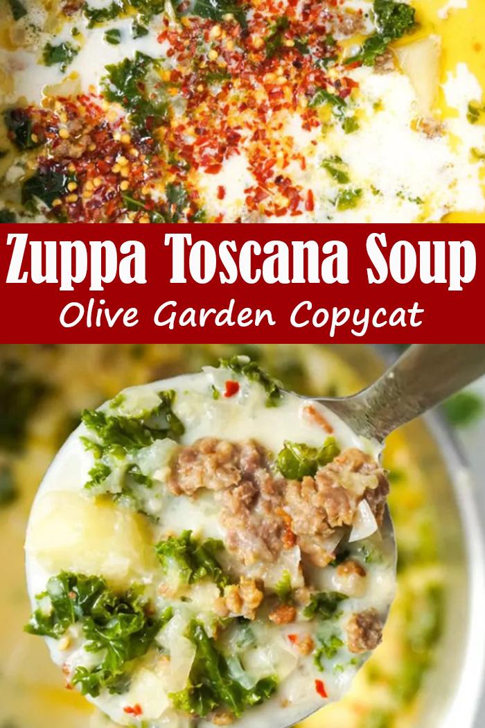 Zuppa Toscana Soup Olive Garden Copycat